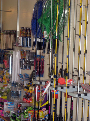 Fishing tackle supplies for adirondacks speculator for Fishing supply stores